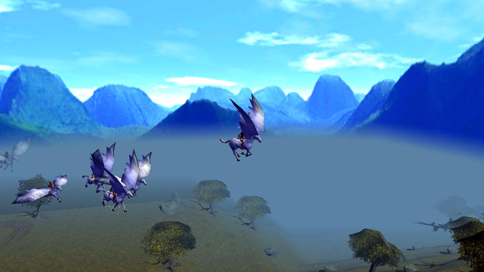 Flight to Mount Cassandra